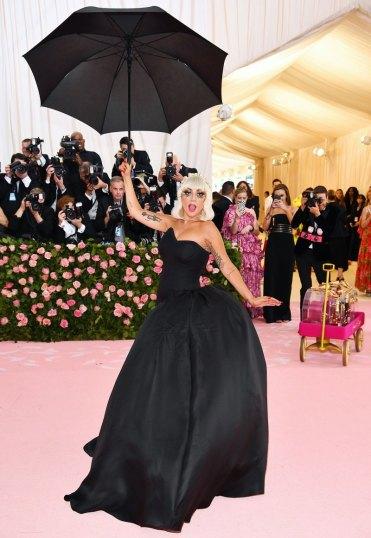 Lady-Gaga-Opens-Red-Carpet-Met-Gala-2019-Four-Costumes-Black-Dress