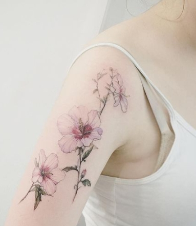 22-delicate-botanical-flower-tattoo