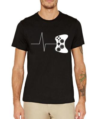 heartbeat-of-a-gamer-t-shirts-funny-2018