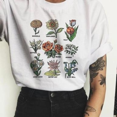 wildflower-graphic-tees-floral-print-t-shirt