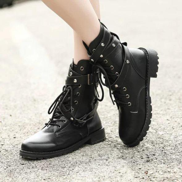 2018-motorcycle-boots-ladies-vintage-combat
