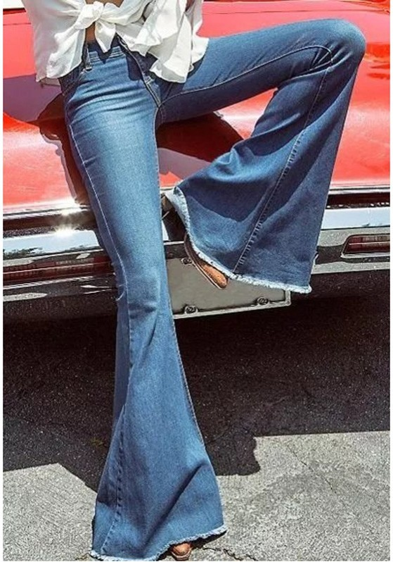 dark-blue-pockets-buttons-high-waisted-mom-flare-long-jeans