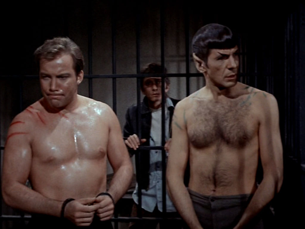 leonard nimoy shirtless star trek spock