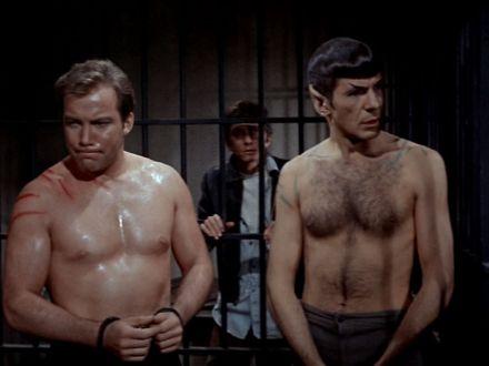 leonard nimoy shirtless star trek spock